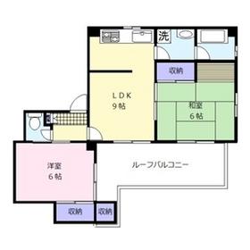 鈴木ビル地下5階Fの間取り画像