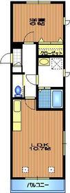 コンフォート2階Fの間取り画像