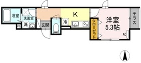 Casa Cuore1階Fの間取り画像