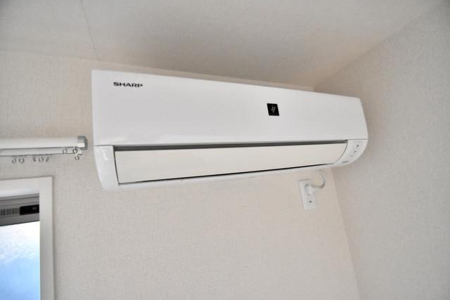シャーメゾンアマヤハイツ うれしいエアコン標準装備。快適な生活が送れそうです。