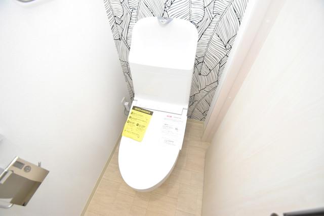 ラモーナ巽南 白くてピカピカのトイレですね。癒しの空間になりそう。