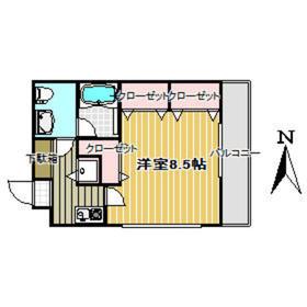 MIYAMAビル4階Fの間取り画像