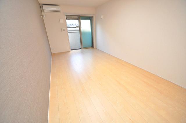 フジパレス高井田西Ⅱ番館 朝には心地よい光が差し込む、このお部屋でお休みください。