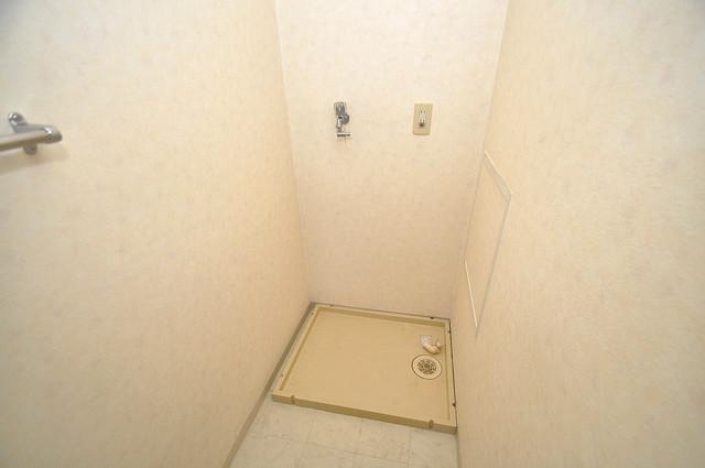 パラドール永和 室内に洗濯機置き場があれば雨の日でも安心ですね。