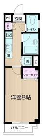 イルマーレ鶴見(イルマーレツルミ)3階Fの間取り画像