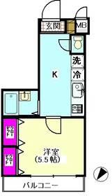 ピアヌーラ英和 406号室