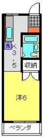 フローレス弘明寺2階Fの間取り画像
