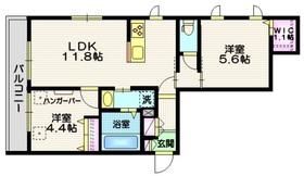 (仮称)八潮市南川崎メゾン3階Fの間取り画像