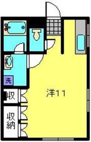 大倉山駅 徒歩2分1階Fの間取り画像