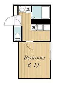 スターハイム2階Fの間取り画像