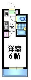 メゾンM2階Fの間取り画像