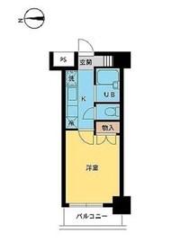 スカイコート笹塚駅前5階Fの間取り画像