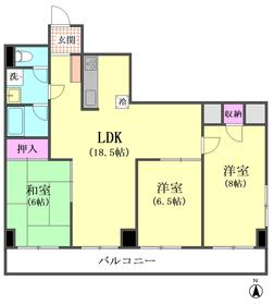 西蒲田スカイハイツ 911号室