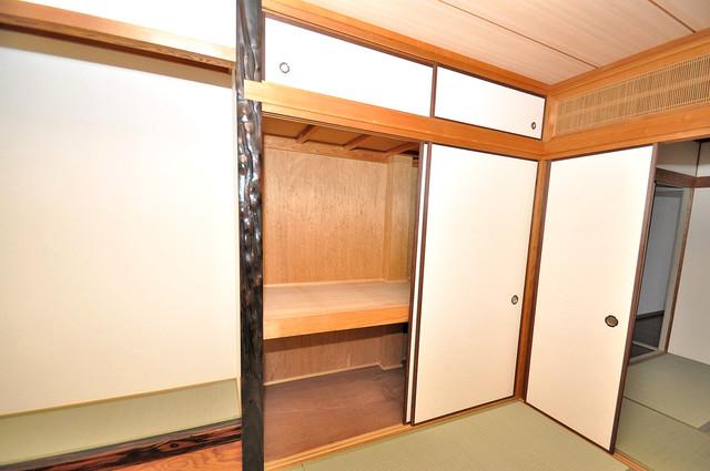 荒川貸家B コンパクトながら収納スペースもちゃんとありますよ。