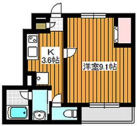 成増駅 徒歩16分1階Fの間取り画像
