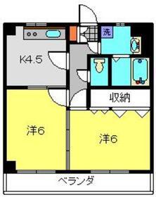 寿屋ビル3階Fの間取り画像