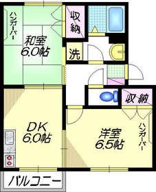 ソレイユ瀬田Ⅰ2階Fの間取り画像