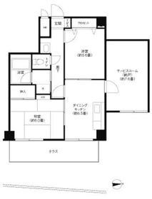 TOMIKURA-Ⅲ1階Fの間取り画像