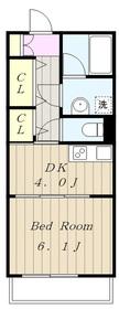 向ヶ丘遊園駅 徒歩30分2階Fの間取り画像