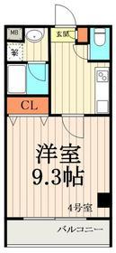 グランドゥールステージ5011階Fの間取り画像