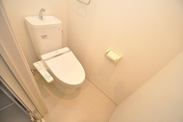 メゾンサンヴァレー 清潔感のある爽やかなトイレ。誰もがリラックスできる空間です。