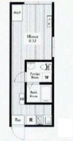 神楽坂駅 徒歩7分4階Fの間取り画像