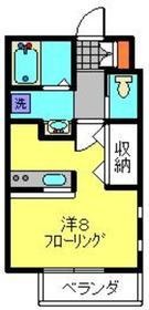 メゾン・エス1階Fの間取り画像