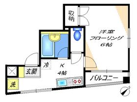 ピュア多摩川3階Fの間取り画像