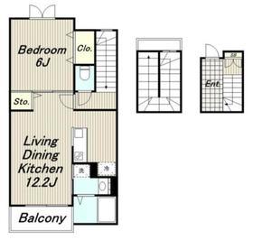 アストライア3階Fの間取り画像