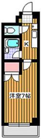 グリーンヒル小日向1階Fの間取り画像