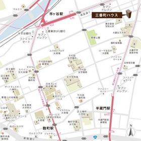 三番町ハウス案内図
