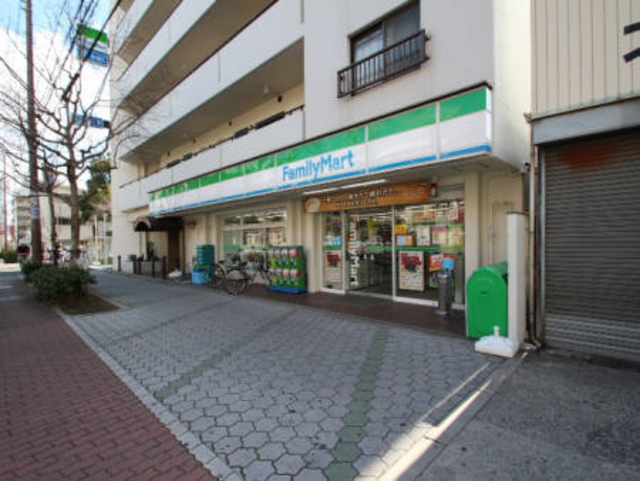 ファミリーマート針中野二丁目店
