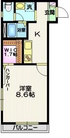 コンフォート白金3階Fの間取り画像