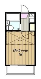相模台レジデンス1階Fの間取り画像
