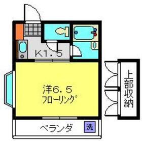 ビューハイム鈴木2階Fの間取り画像