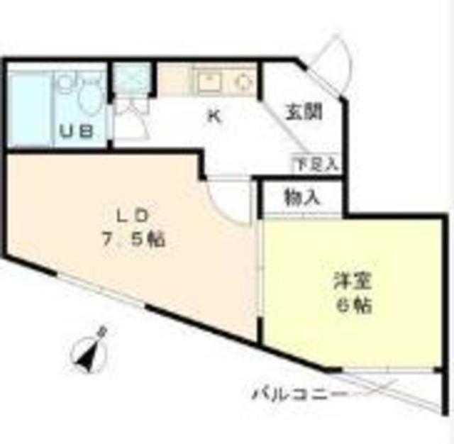 麻布十番駅 徒歩5分間取図