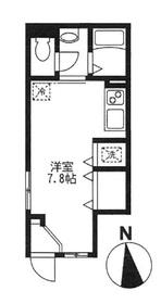フィカーサ東新宿1階Fの間取り画像