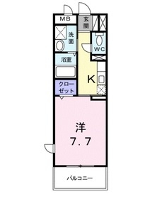 アドラブール4階Fの間取り画像