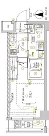 ラフィスタ川崎大師3階Fの間取り画像