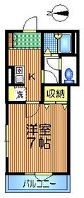カメリア経堂1階Fの間取り画像