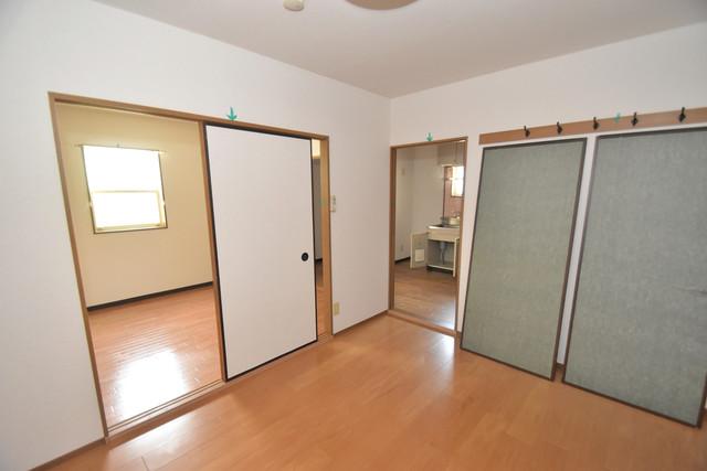 グレイス衣摺 朝には心地よい光が差し込む、このお部屋でお休みください。