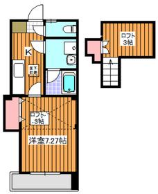 平和台駅 徒歩21分3階Fの間取り画像