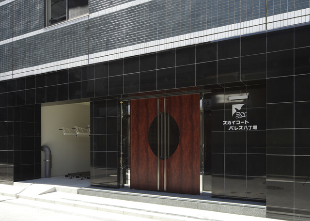 スカイコートパレス八丁堀エントランス
