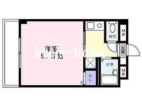 CLEAN GARDEN 御茶ノ水4階Fの間取り画像