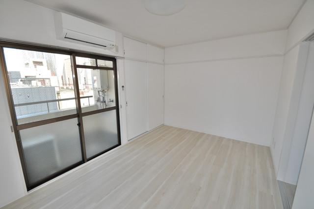 ロータリープロピオ 朝には心地よい光が差し込む、このお部屋でお休みください。