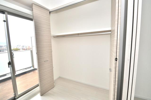 ヴェルテックス もちろん収納スペースも確保。いたれりつくせりのお部屋です。