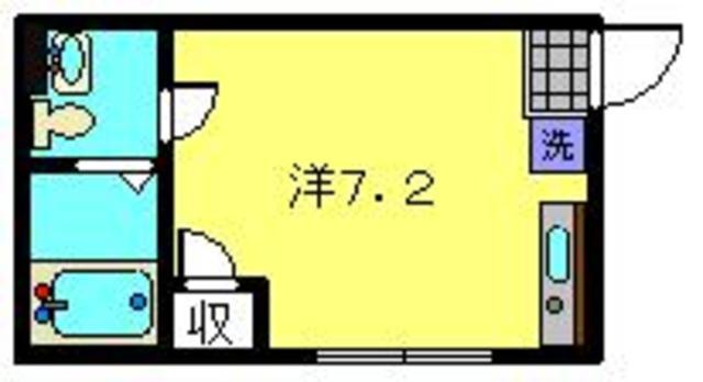グラシア東神奈川間取図