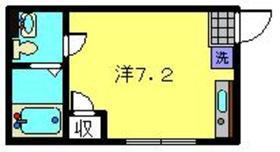 グラシア東神奈川1階Fの間取り画像