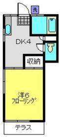 ピアミレイ21階Fの間取り画像