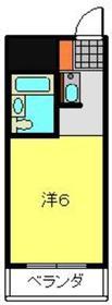 ライオンズマンション伊勢佐木町通り8階Fの間取り画像